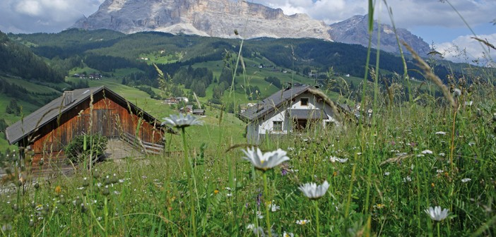 Corvara in den Dolomiten