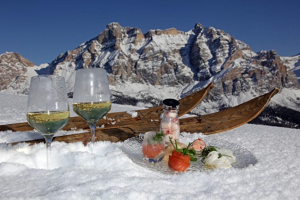 Skifahren mit Genuss in Alta Badia