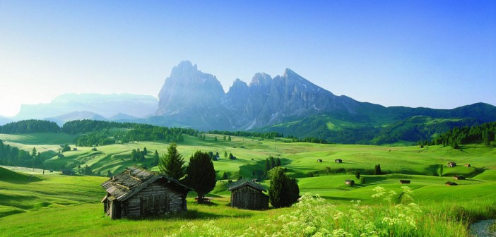 Das Naturerlebnis Südtirol Dolomiten
