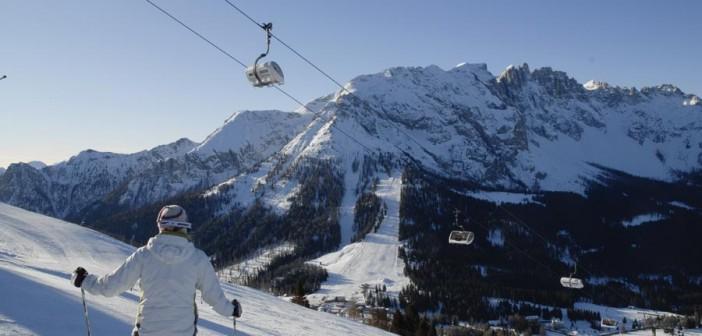 Das Carezza Skigebiet – Sonnenskilaufen in den Dolomiten