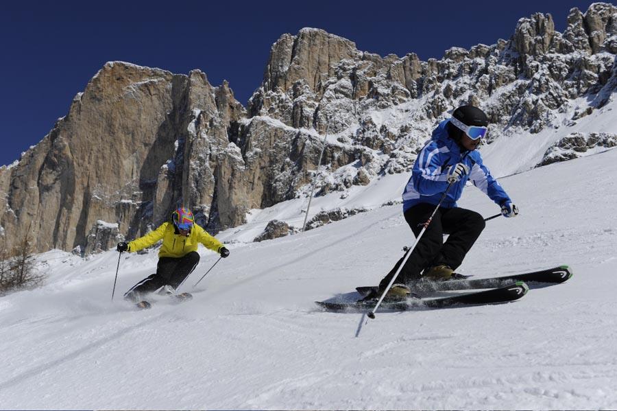 Skifahren Carezza Skigebiet