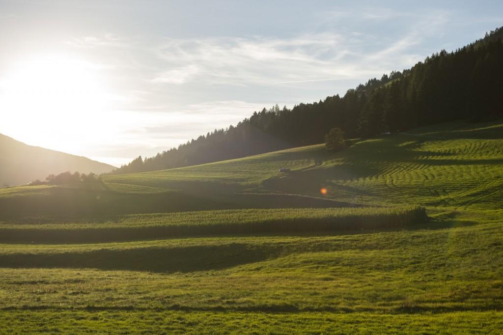 Das Hochpusteral in den Dolomiten